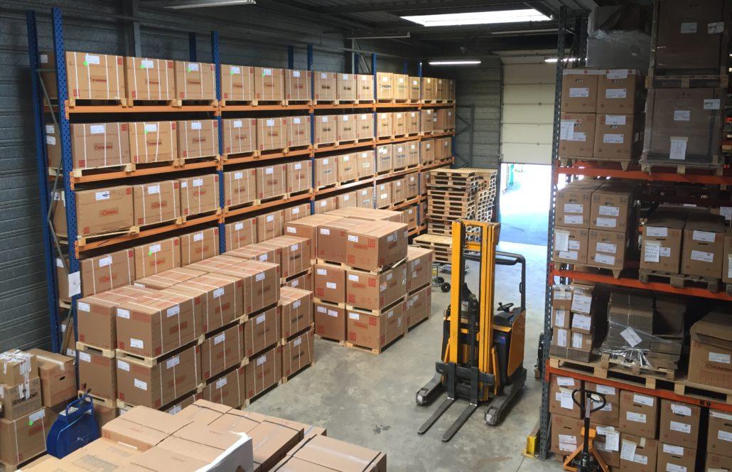 Transfert d'entrepôt - 4 000 m3 dont magasin de pièces détachées de 3 500 références - Seine Saint-Denis (93)